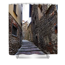 Bergamo Alta Shower Curtain by Jouko Lehto