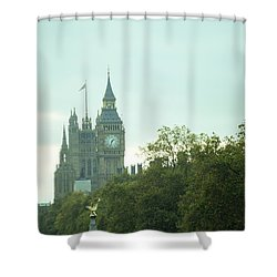 Shower Curtain featuring the photograph Big Ben by Rachel Mirror