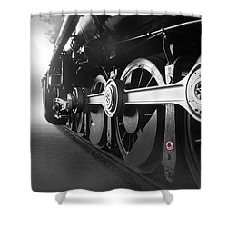 Big Wheels Shower Curtain