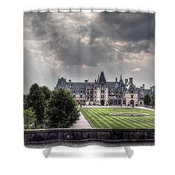 Biltmore Estate Shower Curtain by Savannah Gibbs
