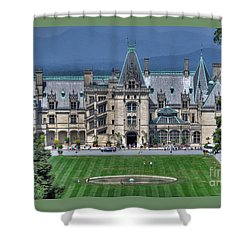 Biltmore House Shower Curtain by Savannah Gibbs
