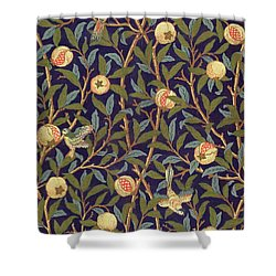 Bird And Pomegranate Shower Curtain