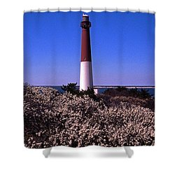 Blooming Barnegat Shower Curtain by Skip Willits
