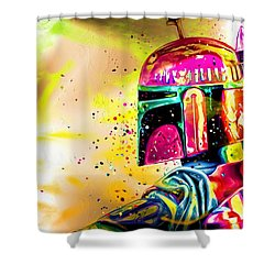 Boba Fett Star Wars Shower Curtain