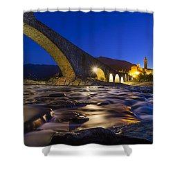 Bobbio Shower Curtain