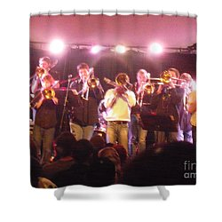 Bonerama At The Old Rock House Shower Curtain by Kelly Awad