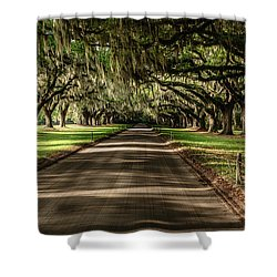 Boone Plantation Road Shower Curtain