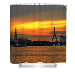 Boston 4025 Shower Curtain