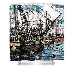 Boston Tea Party, 1773 Shower Curtain by Granger