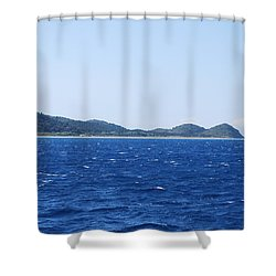 Bragini Beach Shower Curtain