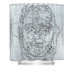 Brothers Shower Curtain