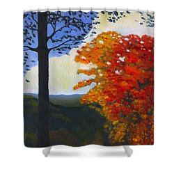 Brown County Indiana Shower Curtain