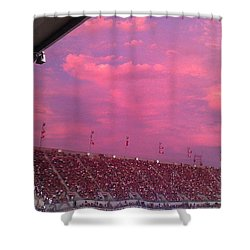 Bryant-denny Painted Sky Shower Curtain