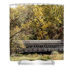 Buckeye Lake Ohio Shower Curtain