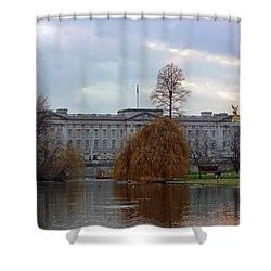 Buckingham Palace Shower Curtain by Lynn Bolt