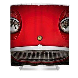 Bug Eyed Sprite Shower Curtain by Douglas Pittman