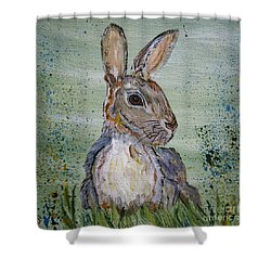 Bunny Rabbit Shower Curtain