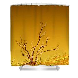 Burnt Bush Shower Curtain