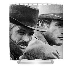 Butch Cassidy And The Sundance Kid Shower Curtain