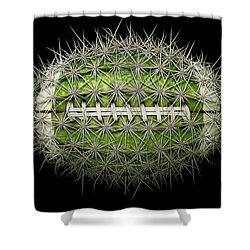Cactus Football Shower Curtain