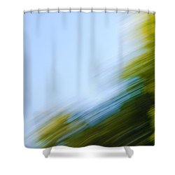 Camera Toss Shower Curtain