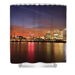 Canary Wharf 2 Shower Curtain by Mariusz Czajkowski