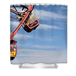 Carousel Twist Shower Curtain by David Nicholls