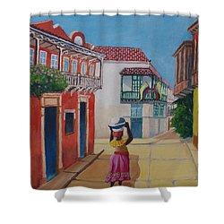 Cartagena Seller Shower Curtain