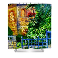 'casa At Radda' Shower Curtain