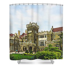 Casa Loma In Toronto Shower Curtain