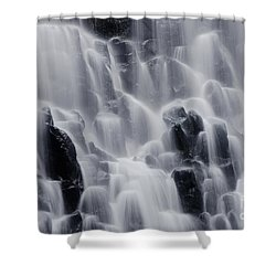 The Land Of Tumbling Waters Shower Curtain