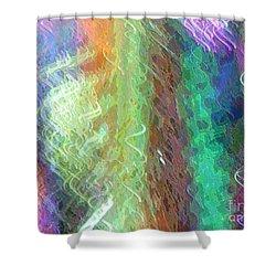 Celeritas 38 Shower Curtain