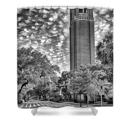 Shower Curtain featuring the photograph Century Tower  by Howard Salmon
