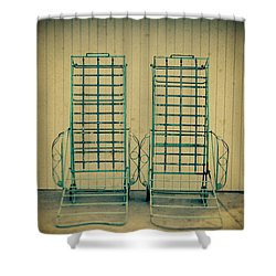 Chaise Lounge Shower Curtain by Yo Pedro