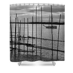 Changi Cove, Singapore Shower Curtain