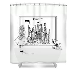Chapter Nine Shower Curtain