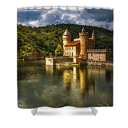 Chateau De La Roche Shower Curtain