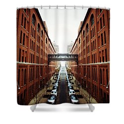 Chelsea Symmetry Shower Curtain