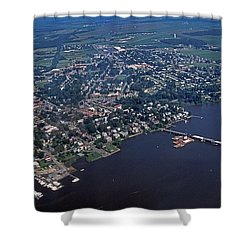 Chestertown Maryland Shower Curtain by Skip Willits