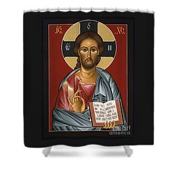 Christ All Merciful 022 Shower Curtain