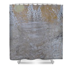Christmas Card No.2 Shower Curtain by Nancy Pace