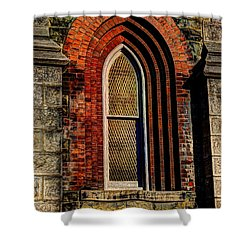 Churches On Church Street Shower Curtain