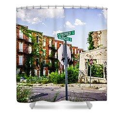 Cincinnati Glencoe-auburn Place Picture Shower Curtain by Paul Velgos