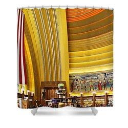 Cincinnati Museum Center At Union Terminal 0018 Shower Curtain