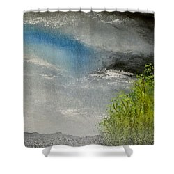 Cloudy Sky Shower Curtain by Tim Townsend
