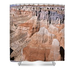 Coal Mine Canyon 1-v Shower Curtain