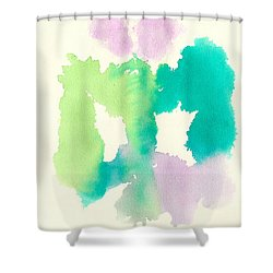 Shower Curtain featuring the painting Cocoon by Frank Bright