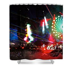 Coldplay - Sydney 2012 Shower Curtain