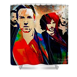 Coldplay Collection Shower Curtain