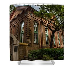 College Of Charleston Campus Shower Curtain